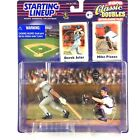Derek Jeter Mike Piazza 2000 Starting Lineup Classic Doubles Interleague MLB