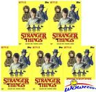 (5) 2018 Topps Stranger Things EXCLUSIVE Sealed Blaster Box- 5 Patch RELIC