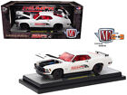 1970 Ford Mustang BOSS 429 Thumpr Cams Semi Gloss White 1 24 Diecast Model Car