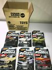 HOT WHEELS FAST  FURIOUS COMPLETE SET OF 6 WALMART EXCLUSIVE 2019