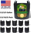 Hydroponic Grow Bags Smart Pot Garden Aeration Plant Fabric Container Handles