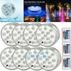 Submersible LED Bulb Color Changing Fountain Swimming Pool Lamp Remote Control