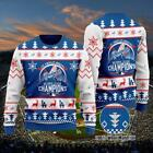 Los Angeles Dodgers world champions ugly sweater - MLB woolen sweater - Baseball