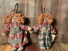 Boyds Bears Collection  Molasses Sassafrass Mini Ragdolls Archive Collection New