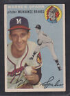Top 10 Warren Spahn Baseball Cards 30