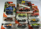 Matchbox Fire Trucks Police Rescue Real Working Rigs Pierce Velocity LOT of 10