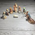 Vintage Goebel Christmas Nativity Set 9 pieces  West Germany