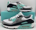 Nike Air Max 90 Retro Hyper Turquoise Blue White Grey Black CD0881 100 Mens Size
