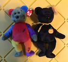 Lot of 2 Ty beanie babies: haunt and Frankenteddy