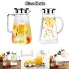 NEW Cold Water Kettle Teapot Glass Pitcher Jug Water Juice Tea