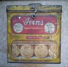 Vintage Ivans Of Philadelphia Bisquit Cookie Tin Lunch on Thins