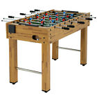 48 inch Game Foosball Table W 2 Balls 2 Cup Holders Indoor Soccer Table As a