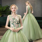 Evening Formal Party Ball Gown Prom Bridesmaid Show Host Princess Dress SMFS31