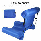 Water Floating Deck Chair Foldable Inflatable Row Rafting Bed Sofa Swim Pool Set