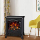 1850W Electric Fireplace Heater Stove Log Burning Fire Flame Effect Freestanding