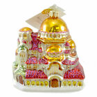 Christopher Radko ST ALEXANDER'S Glass Ornament Temple Religious