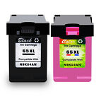 Black Color Ink 65XL Print Cartridge 65XL for HP DeskJet 2655 3755 All in One