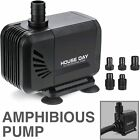 Amphibious Water Pump Submersible Aquarium Powerhead Hydroponic Fountain Pond