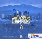 2020 Topps Now Los Angeles Dodgers World Series Champions Cards and Collaborations Guide 24