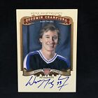 WAYNE GRETZKY 2012 UPPER DECK GOODWIN CHAMPIONS ON CARD AUTO AUTOGRAPH SP A-WG