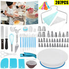 207PCS Cake Turntable Decorating Supplies Tool Set Nozzle Rotating Stand Pen DIY
