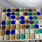 New Bedford Glass Pairpoint Museum of Fine Arts Boston Cup Plates Lot of 62