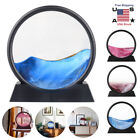 Moving Sand Frame Art Picture Glass 3D Sandscape Motion Display Quicksand Gift