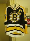 Ray Bourque Boston Bruins Jersey Mens CCM authentic small black yellow