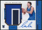 2018-19 NATIONAL TREASURES LUKA DONCIC PATCH JERSEY AUTO AUTOGRAPH 11 25!