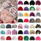 Kid Toddle Girl Infant Beanie Hat Bow Knot Turban Cap Newborn Head Wrap Headband