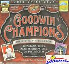 2018 Upper Deck Goodwin Factory Sealed HOBBY Box-3 HITS (Auto Relic Patch 3-D)