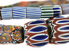 Millefiori Venetian Chevron Trade Beads Mixed Africa