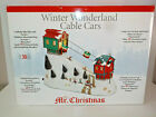 Mr Christmas Winter Wonderland Cable Cars Original Box  Packaging Works