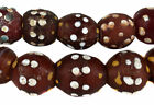Skunk Venetian Trade Beads Red Double Row African