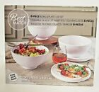 Overandback 6 piece Bowl and Lid or Plate Set Stackable Kitchen Design  Style