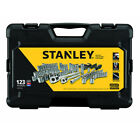 Stanley STMT71652 123 Pc 1 4 in and 3 8 in Drive Mechanics Tool Set New