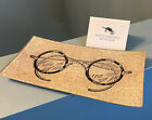 New Bens Garden Decoupage Antique Eye Spectacles Glass Plate Ring Tray
