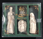 Lenox China Jewels HOLY FAMILY  CRYSTAL STAR SET Christmas Nativity Excellent