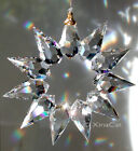 Preciosa Handcrafted 50mm Bohemian Crystal Clear Star Prism Suncatcher 2