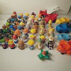 Fisher Price Little People Lot of 50+ DC Snow White Nativity Vehicles Taxi