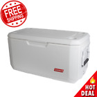 120 Qt Coastal Extreme Marine Cooler Thick Insulation Outdoor Ice Chest Fishing