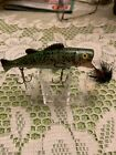 Vintage Buckeye Bait Co Bug N Bass Rainbow Trout Pattern3 1 2Nice