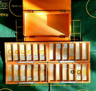ANTIQUE VINTAGE COLLECTION OF SCIENTIFIC MICROSCOPE SLIDES 1920 TO 1990