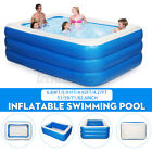 82 Inflatable Family Swimming Pool Outdoor Summer Lounge Water Fun for 4 Kids