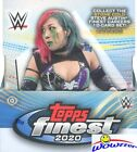 2020 Topps FINEST WWE Wrestling Factory Sealed HOBBY Box-2 AUTOGRAPHS