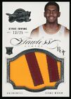 KYRIE IRVING 2012-13 Rookie Flawless Panini Game Worn Jersey NBA Card 13 25