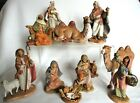 Fontanini 11 Pc 5 Figures  Camels Christmas Nativity Set Lot Depose Italy