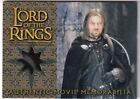 2002 Topps Lord of the Rings: The Fellowship of the Ring Collector's Update Trading Cards 8