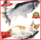 Electric Moving Cat Toy Fish Pez Realista Interactivo USB Catnip Funny Pet Gift