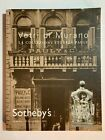 SOTHEBYS MURANO GLASS Historic Pauly Collection Auction Catalog Sept 13 2005